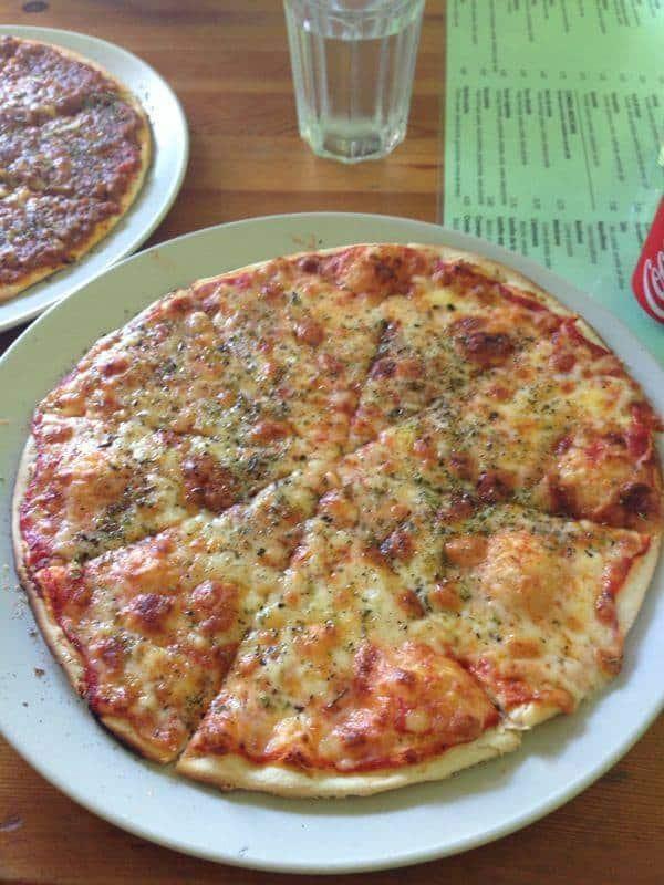 Carta de pizzeria Marta