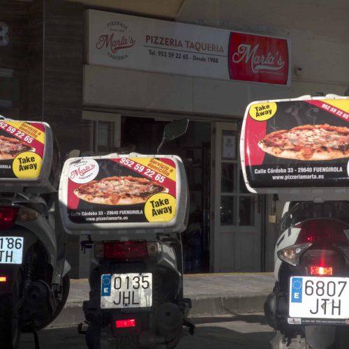 Pizzería en Fuengirola
